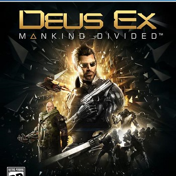 Deus Ex: Mankind Divided Primaria (PS4)