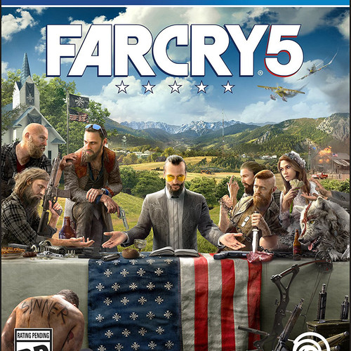 Far Cry 5 Secundaria (PS4)