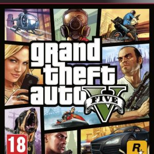 Grand Theft Auto V GTA (PS3)