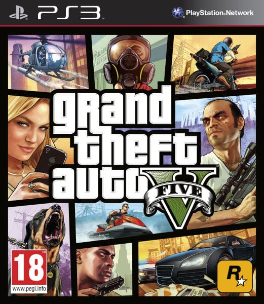 Grand Theft Auto V GTA (PS3)