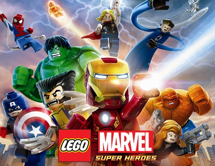 Lego Marvel Super Heroes Primaria (PS4)