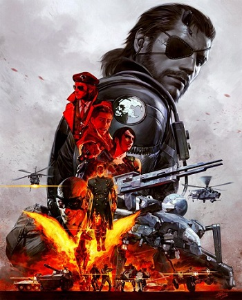 Metal Gear Solid V: The Definitive Experience Secundaria (PS4)