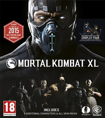 Mortal Kombat XL Primaria (PS4)