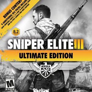 Sniper Elite 3 Edición Ultimate PS3