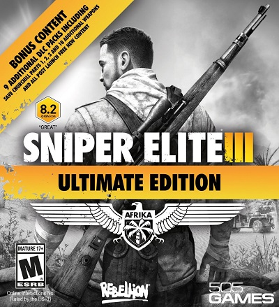 Sniper Elite 3 Edición Ultimate PS3