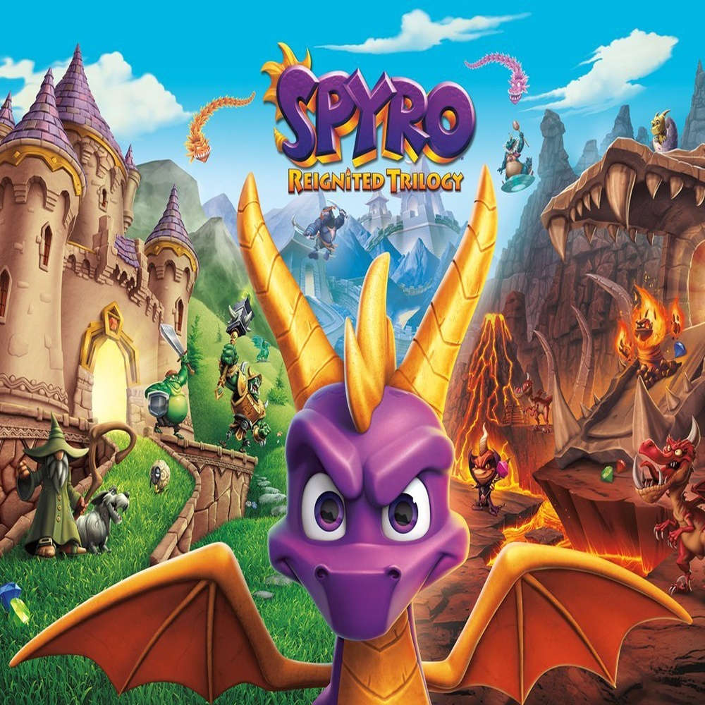Spyro Reignited Trilogy Primaria (PS4)
