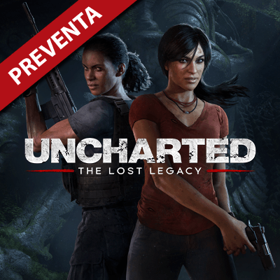 Uncharted: The Lost Legacy Secundaria (PS4)