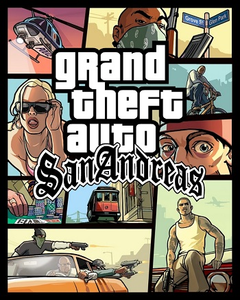 Grand Theft Auto: San Andreas (GTA) (PS3)