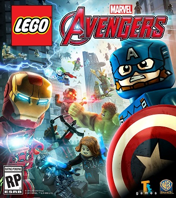 Lego Marvel Avengers Secundaria (PS4)