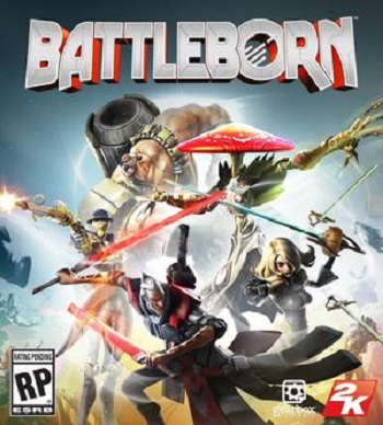 Battleborn Secundaria (PS4)