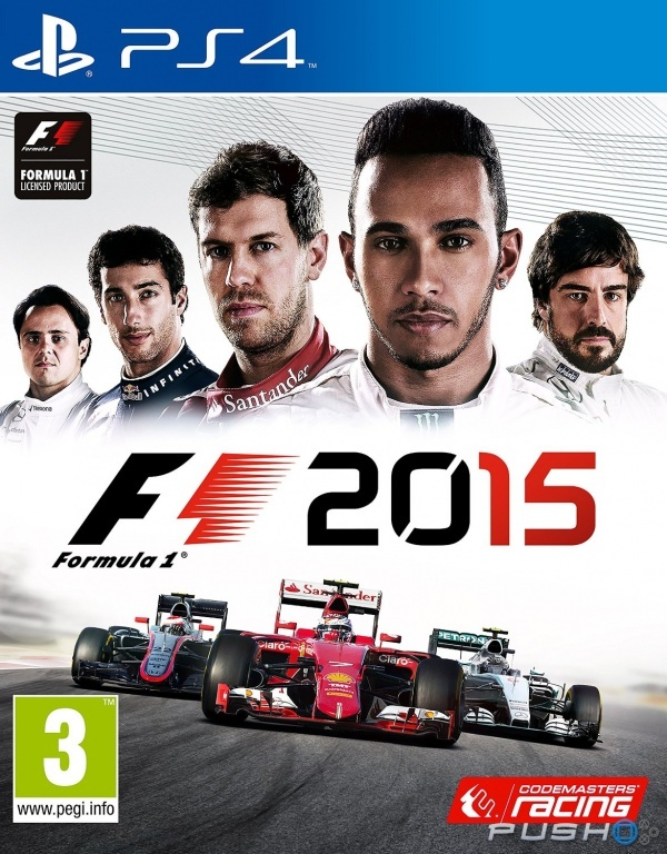 F1 2015 Secundaria (PS4)