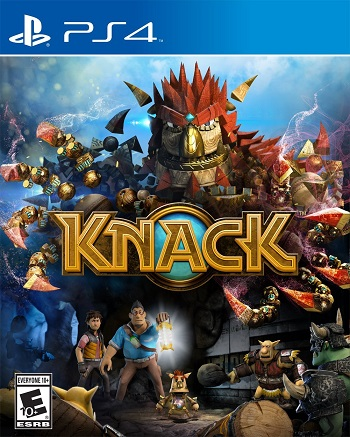Knack Secundaria (PS4)
