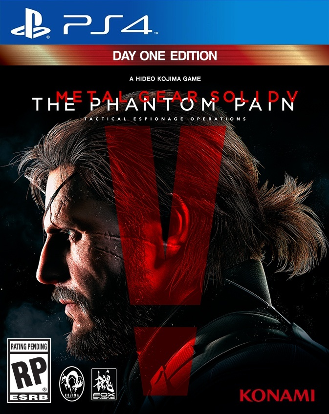 Metal Gear Solid V: The Phantom Pain Primaria (PS4)