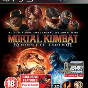 Mortal Kombat 9 Complete Edition (PS3)