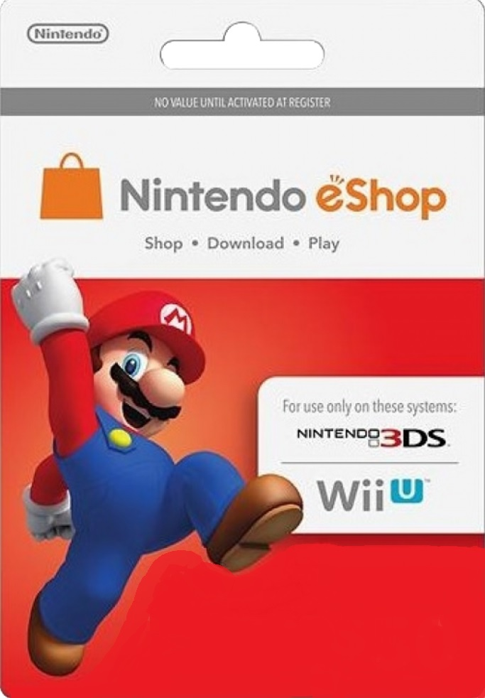 Nintendo eShop Card U$S 20