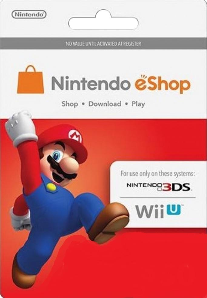Nintendo eShop Card U$S 50