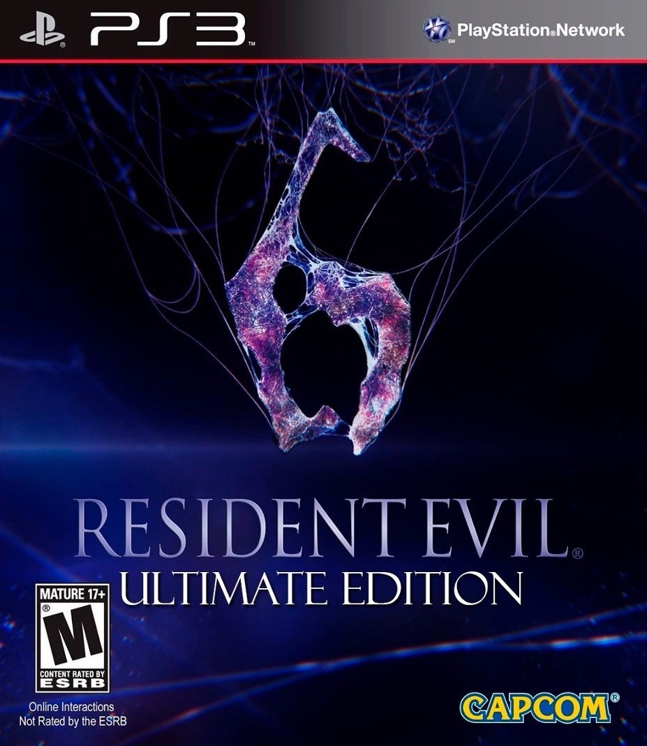 Resident Evil 6 Ultimate (PS3)