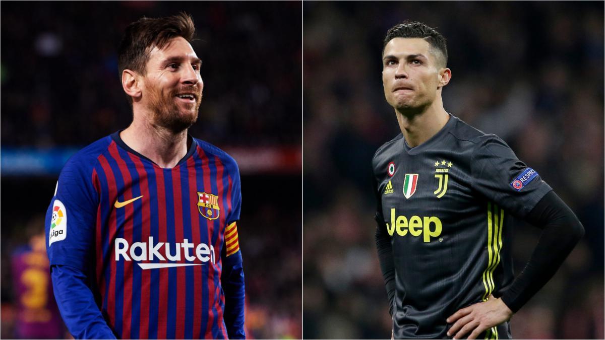 Messi y Ronaldo FIFA20