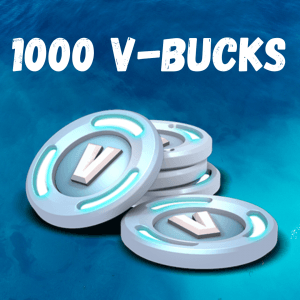 1000 V-Bucks Fortnite