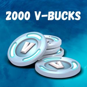 2000 V-Bucks Fortnite