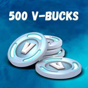 500 V-Bucks Fortnite