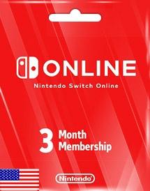 Nintendo Membership 3 Meses