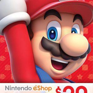 Nintendo Card 20