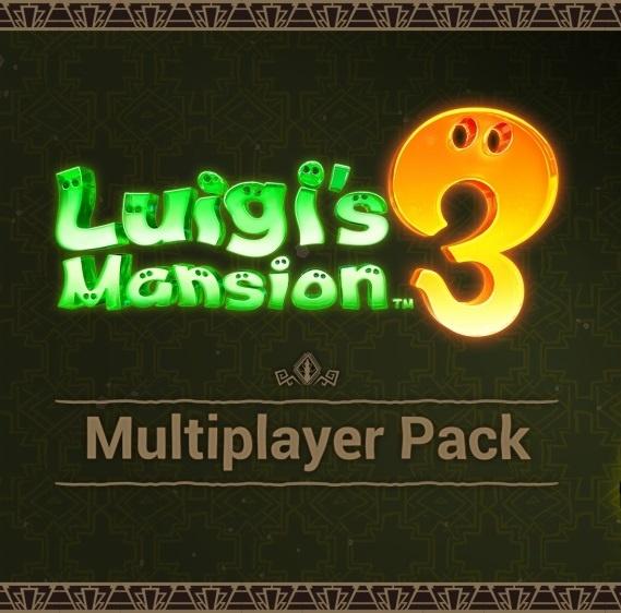 Luigi's Mansion 3: Multiplayer Pack DLC Juegos Nintendo Switch