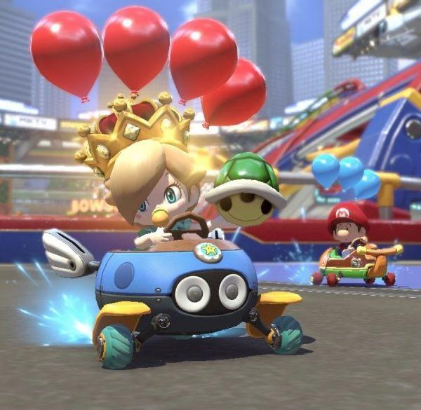 Mario Kart 8 Deluxe juegos nintendo Switch