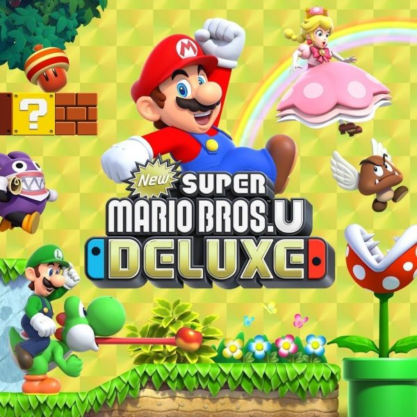 New Super Mario Bros U Deluxe Juegos Nintendo Switch
