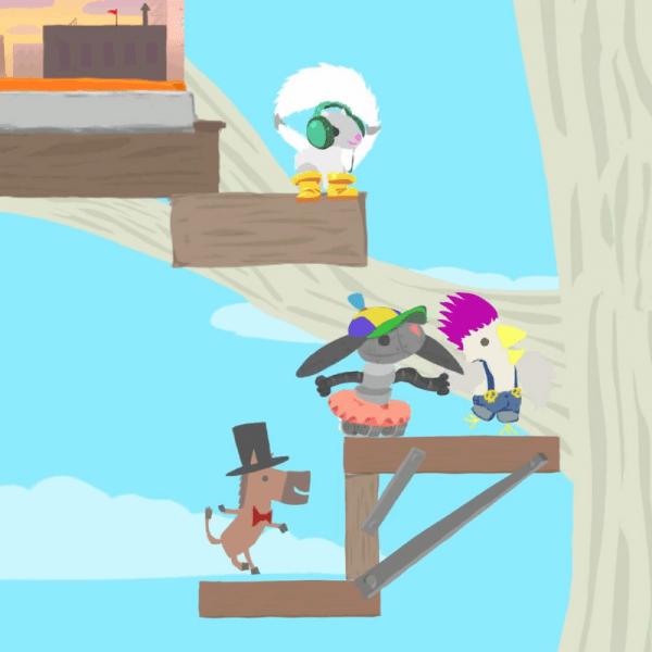 Ultimate Chicken Horse Juegos Playstation4