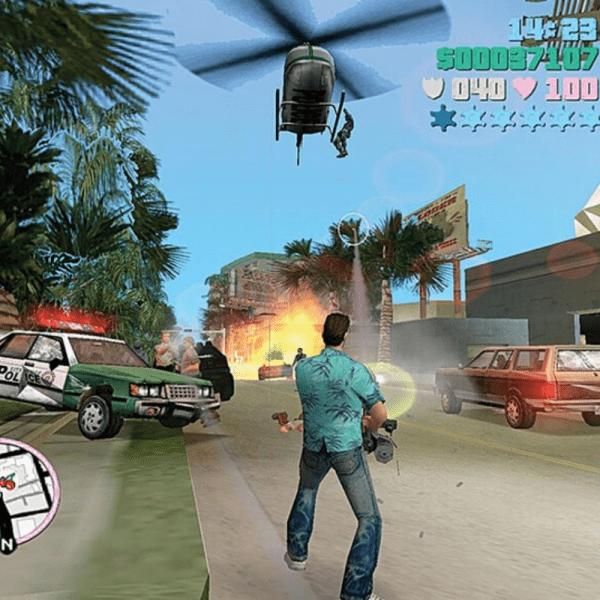 GTA Vice City Juegos Playstation4